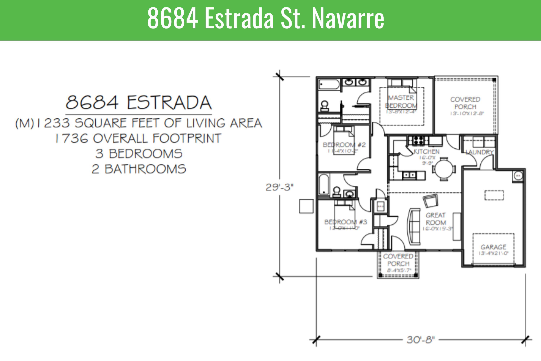 Photo of home for sale at 8684 Estrada, Navarre FL