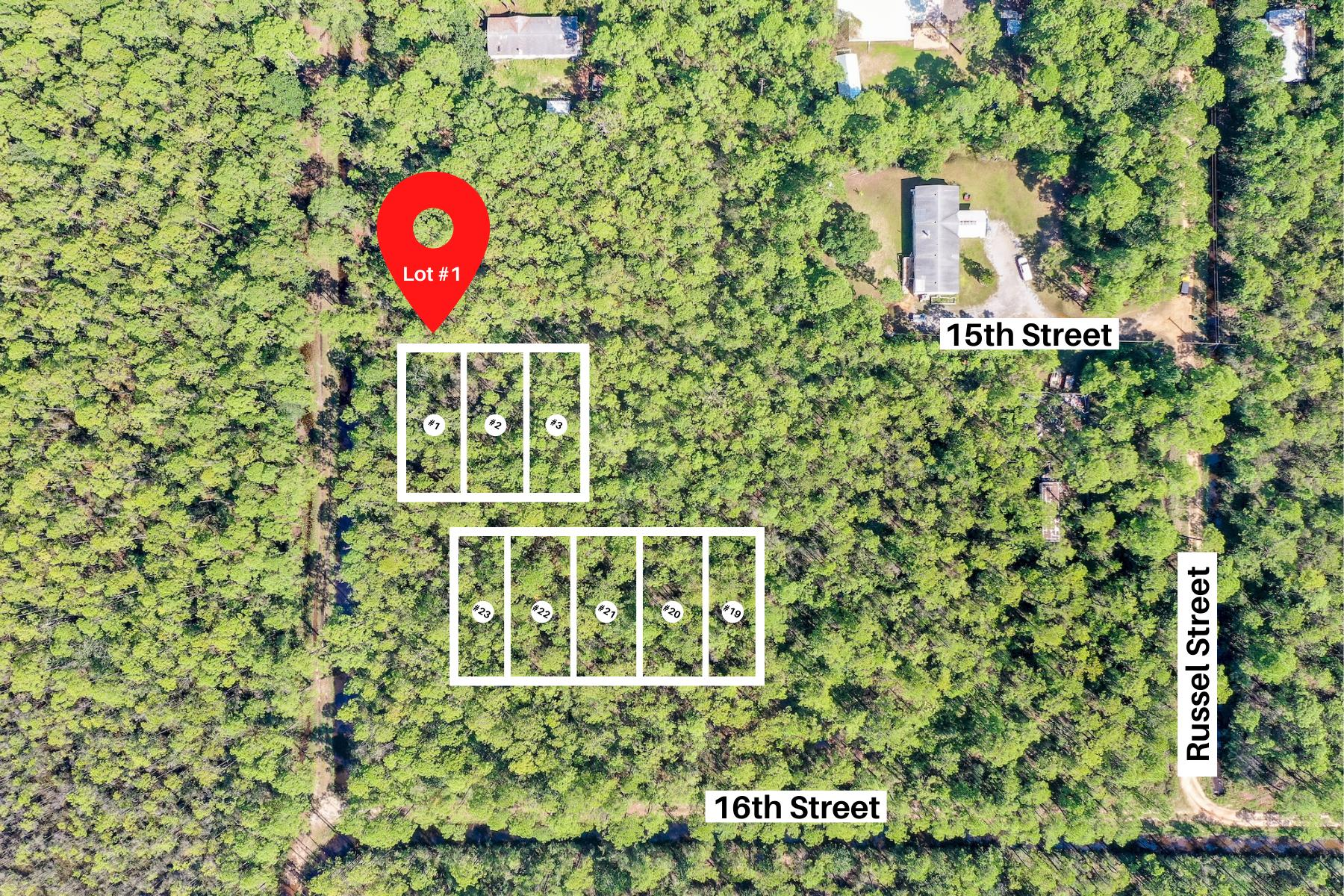 Photo of home for sale at Lots 1-3 15th, Santa Rosa Beach FL