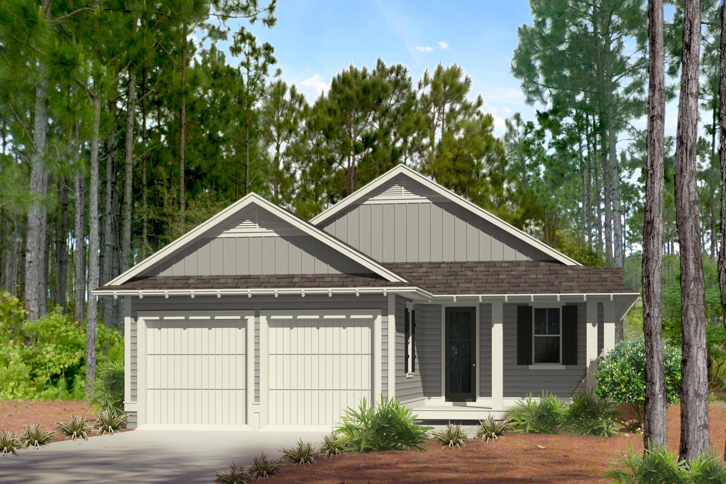 Photo of home for sale at TBD Log Landing, Watersound FL