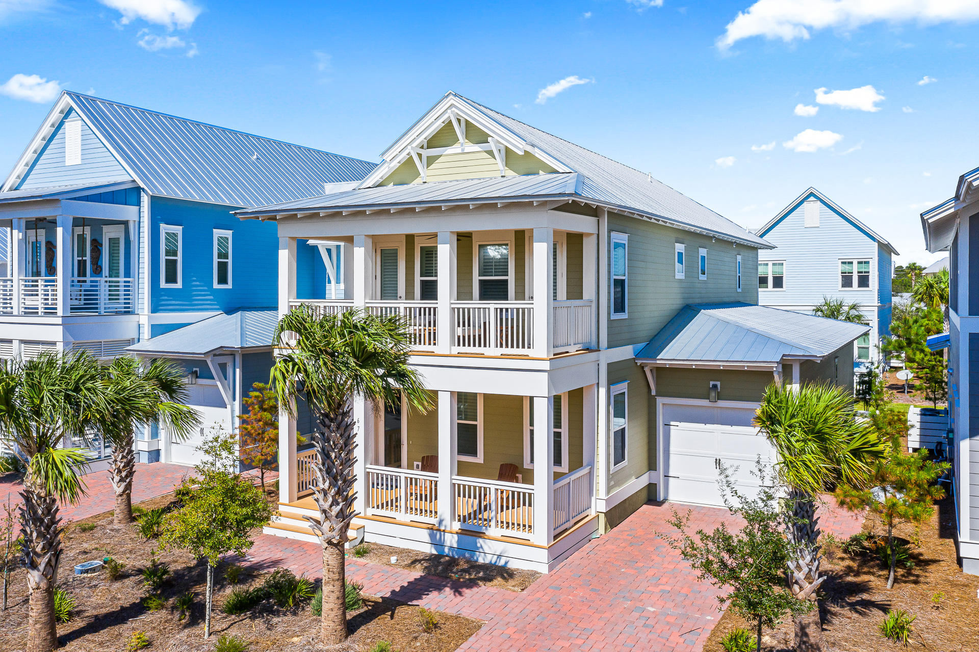 Photo of home for sale at 67 Crabbing Hole Lane, Inlet Beach FL
