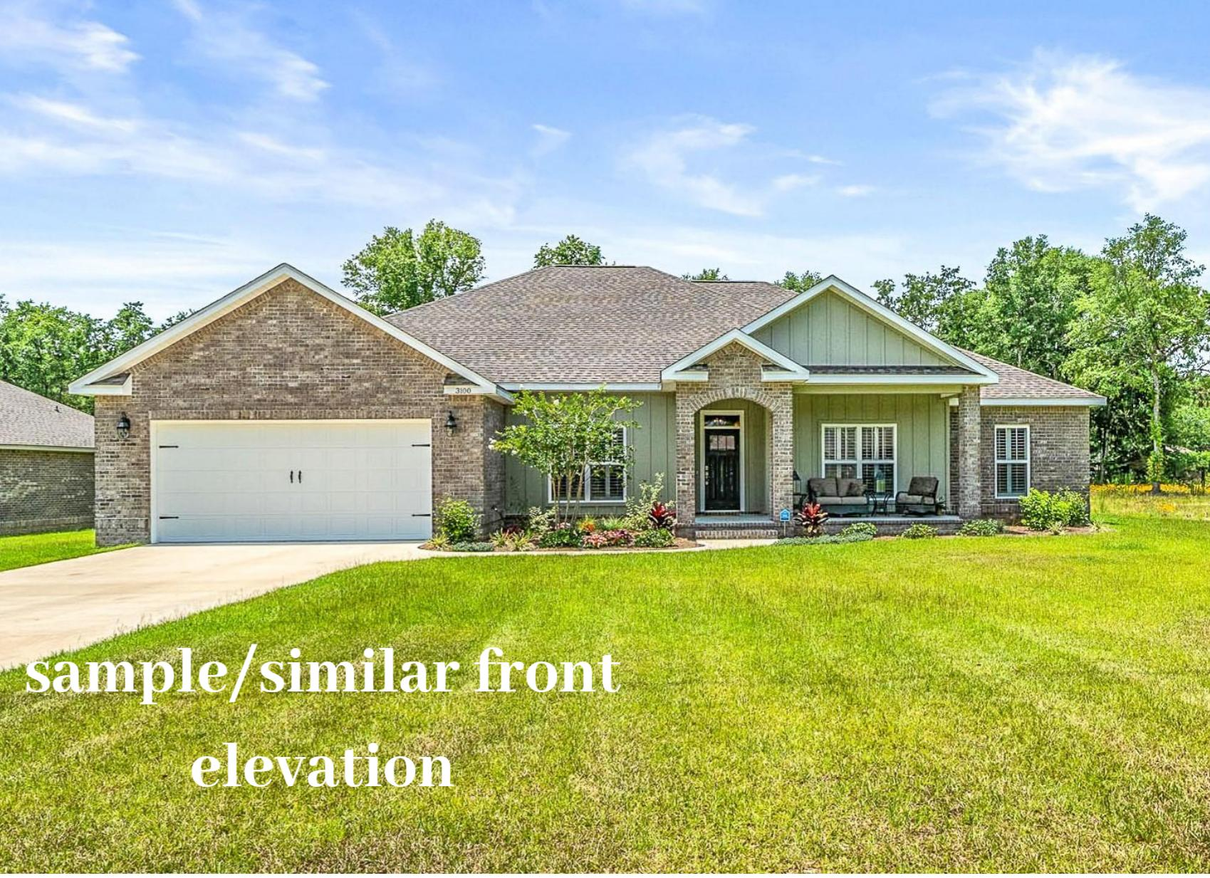 Photo of home for sale at 3031 Colonial Circle, Crestview FL