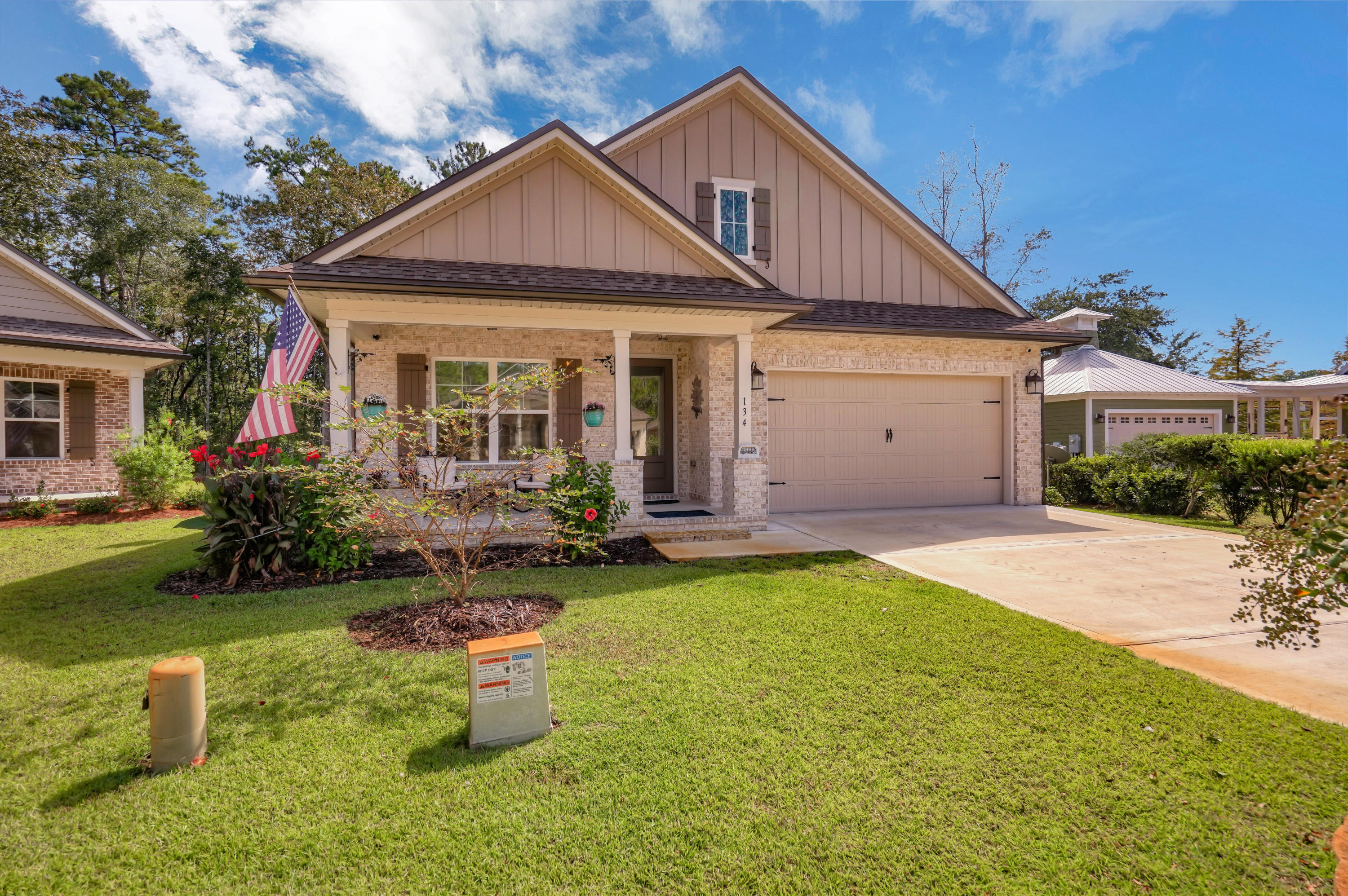 Photo of home for sale at 134 Pintail, Freeport FL