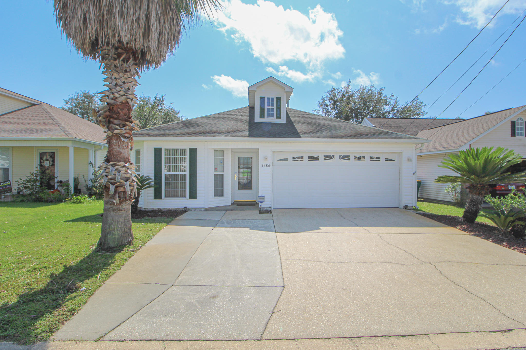 Photo of home for sale at 2386 Marina, Fort Walton Beach FL