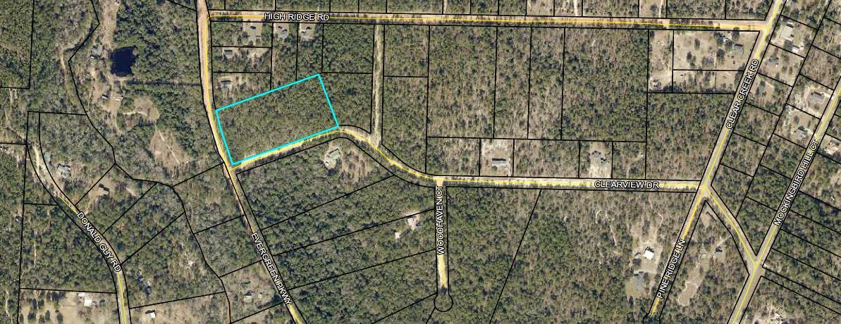 Photo of home for sale at 4.97 ac Evergreen, Crestview FL