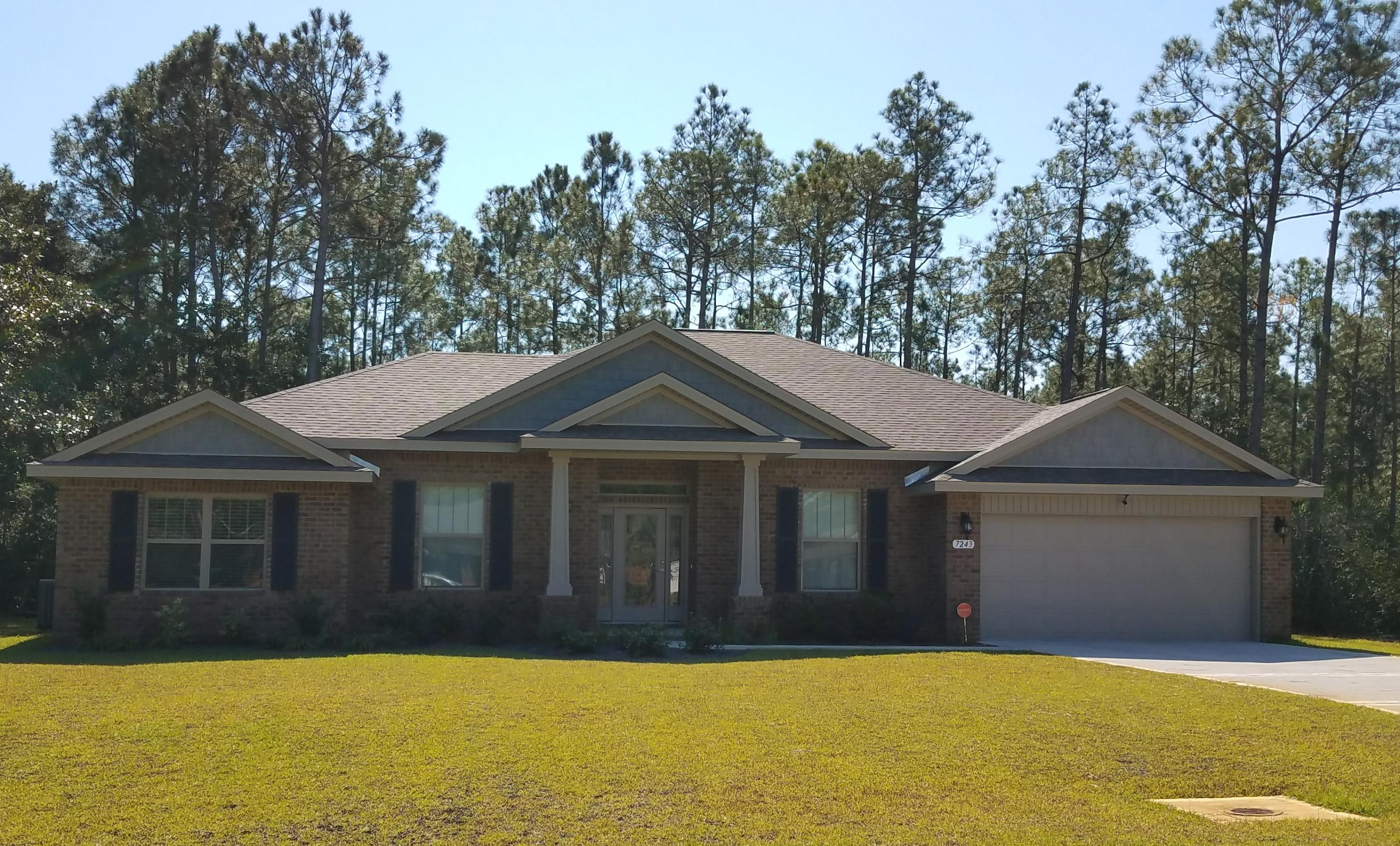 Photo of home for sale at 7243 Reef, Navarre FL