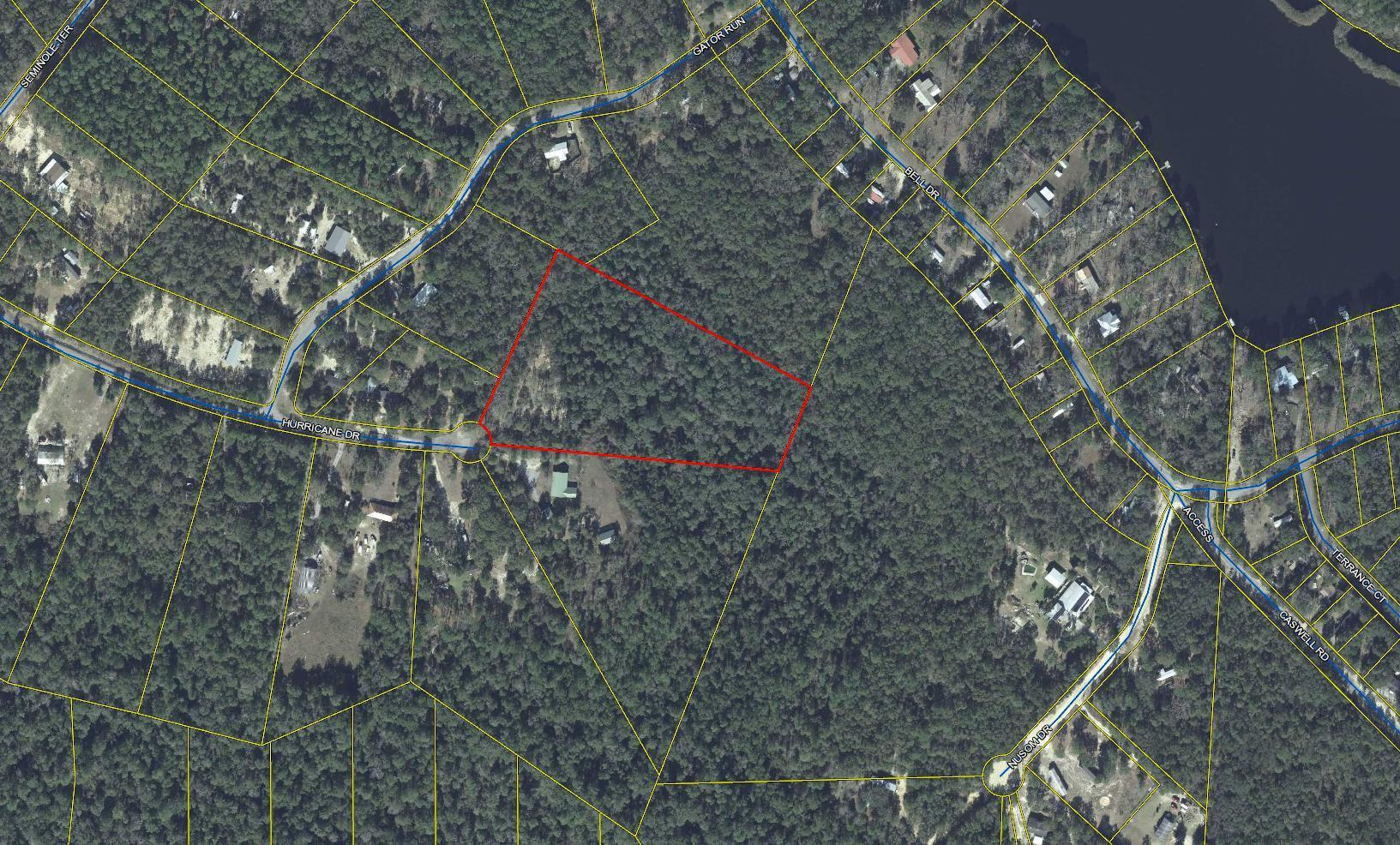 Photo of home for sale at 6 Acres Hurricane, Defuniak Springs FL