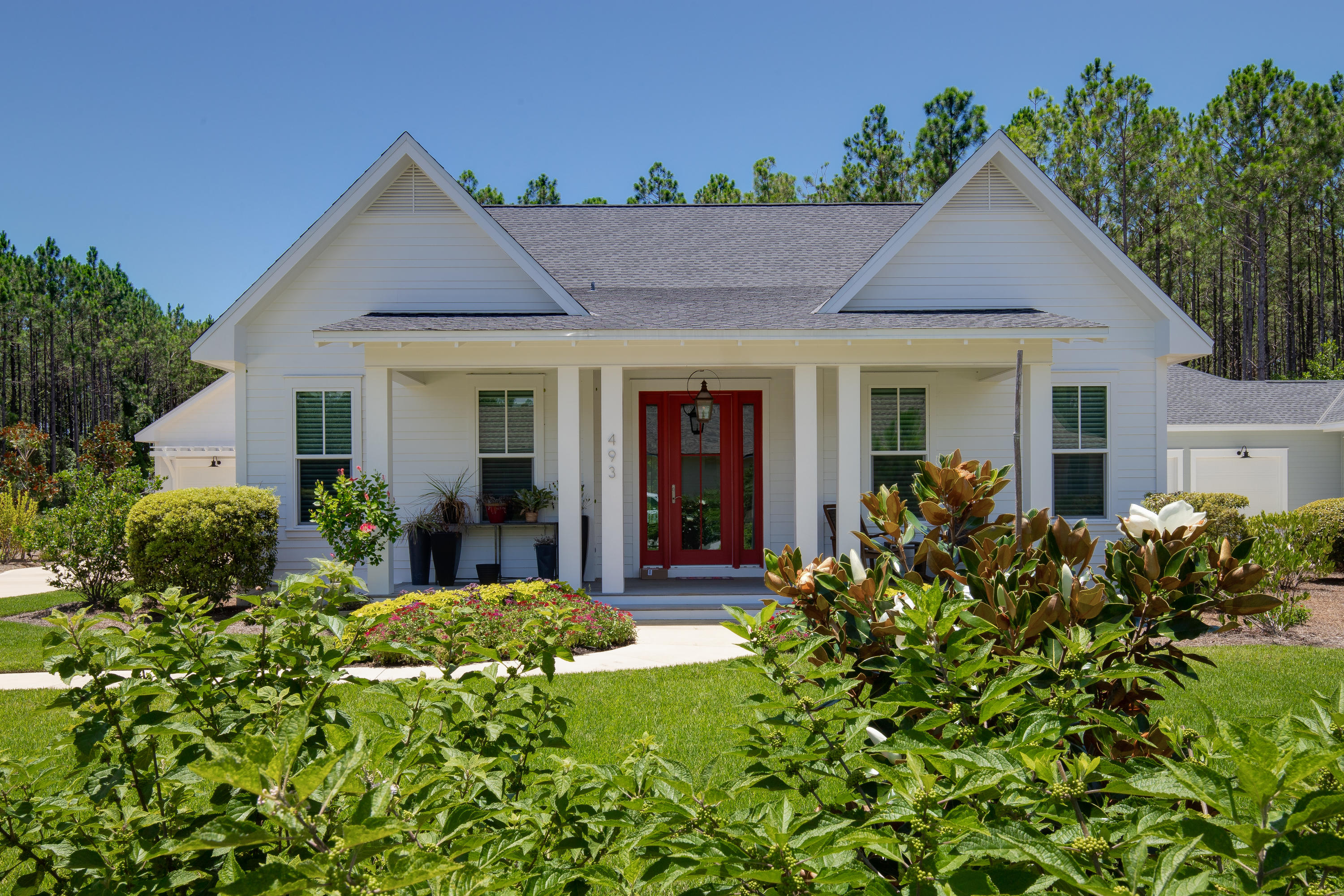 Photo of home for sale at 493 Medley, Inlet Beach FL