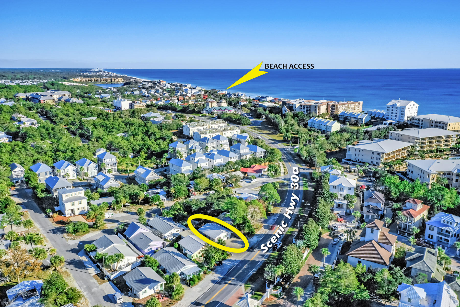 Photo of home for sale at 2508 County Hwy 30a, Santa Rosa Beach FL