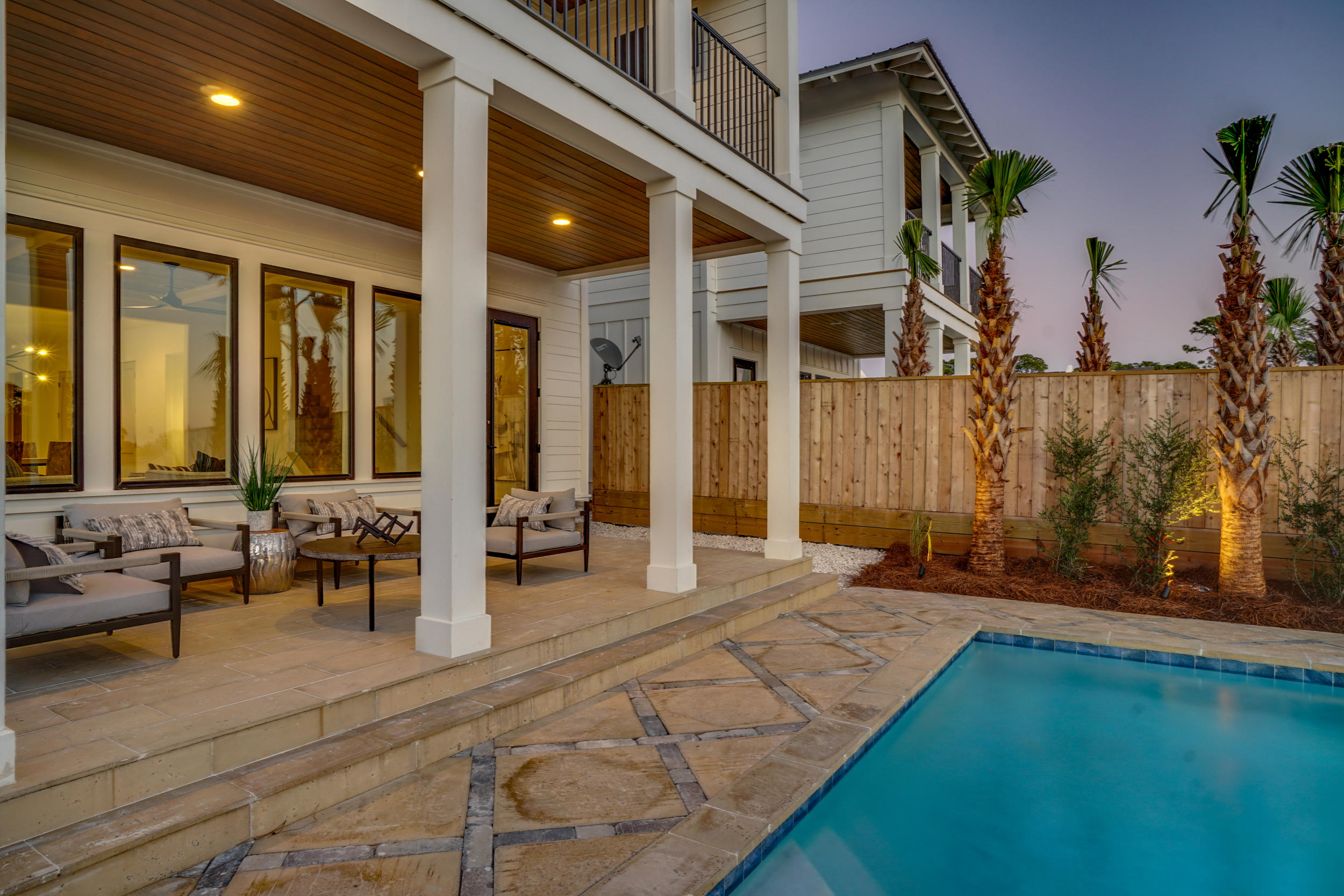 Photo of home for sale at 8599 North Lagoon, Panama City Beach FL