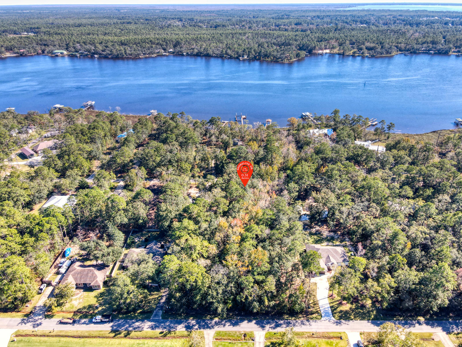 Photo of home for sale at 000 Shoreline, Freeport FL