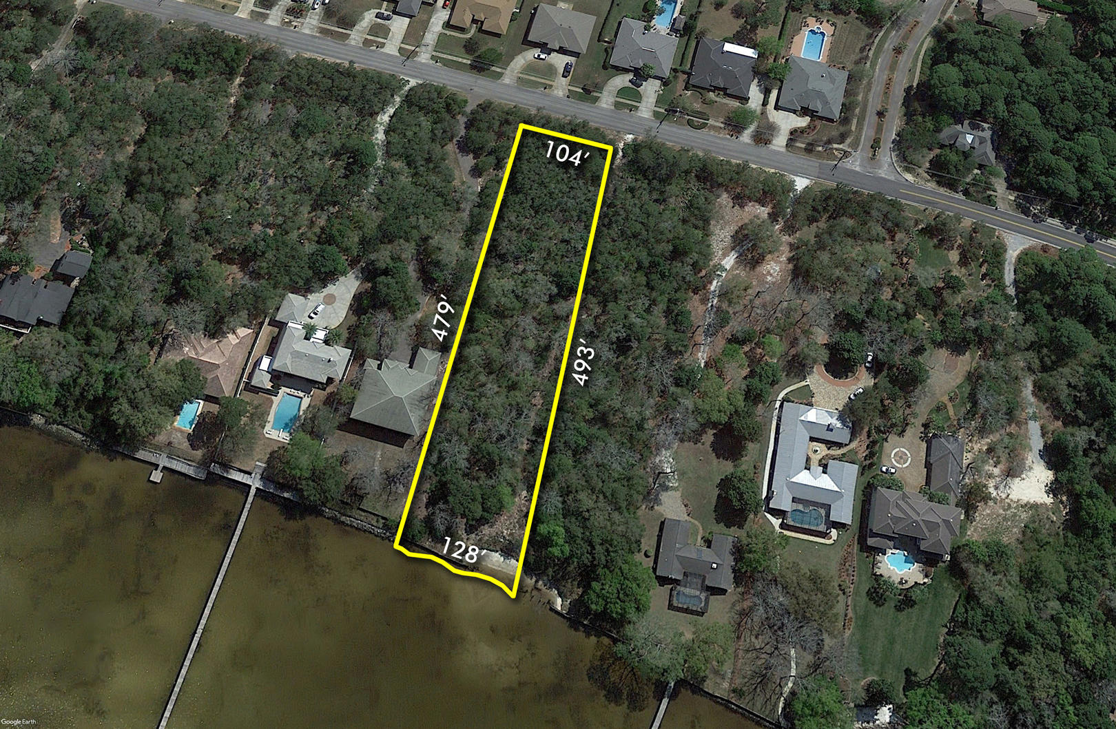 Photo of home for sale at 1.26 Acres Indian, Destin FL