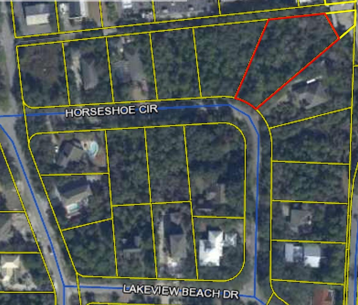 Photo of home for sale at Lot 6 Horseshoe, Miramar Beach FL