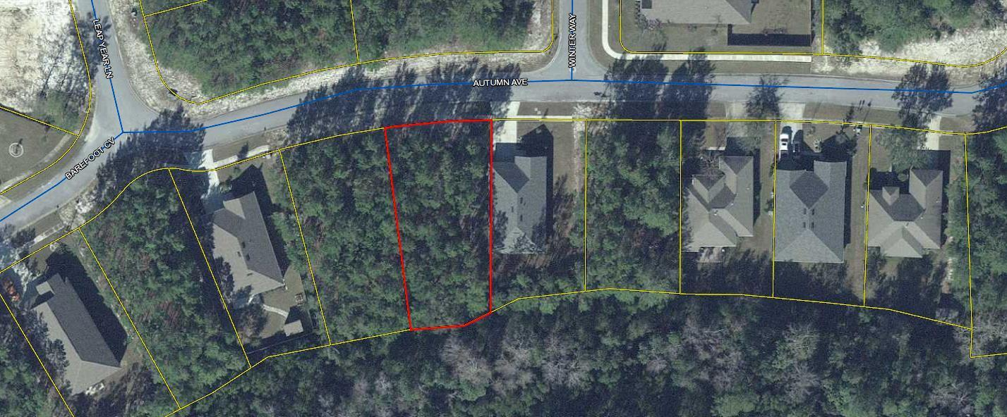 Photo of home for sale at LOT 38 Autumn, Freeport FL