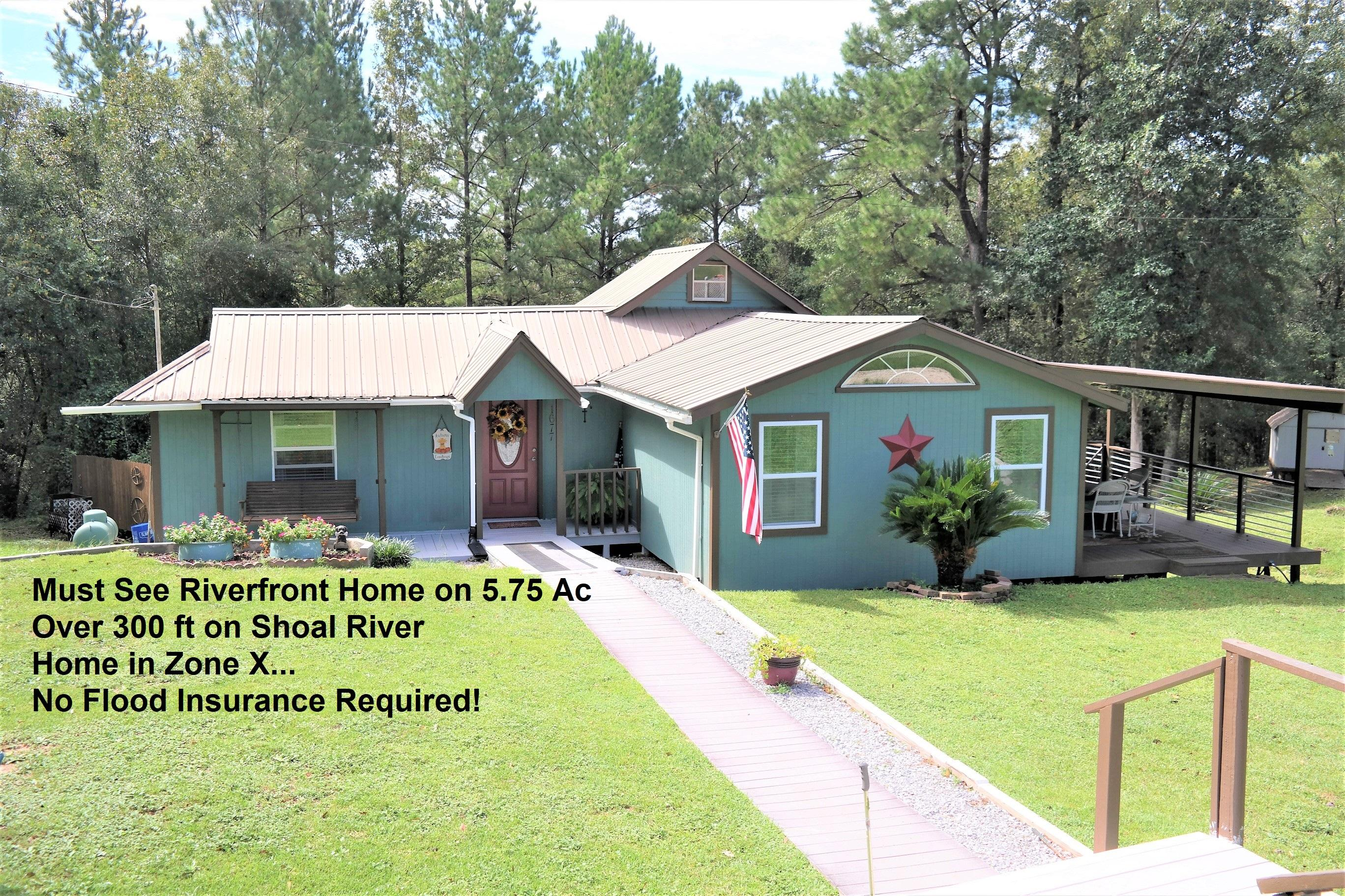 Photo of home for sale at 1677 Crowder Chapel, Crestview FL