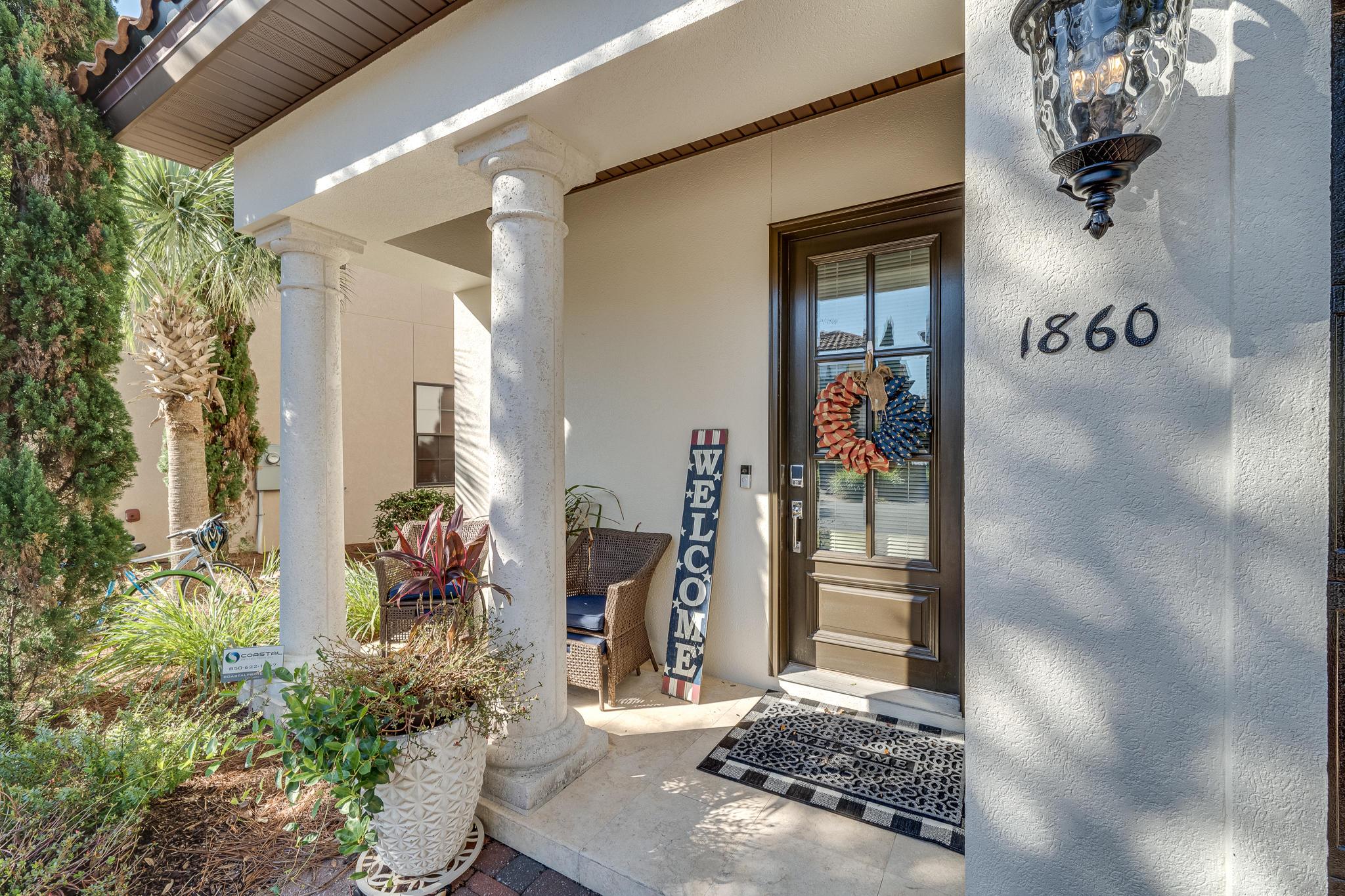 Photo of home for sale at 1860 Boardwalk, Miramar Beach FL