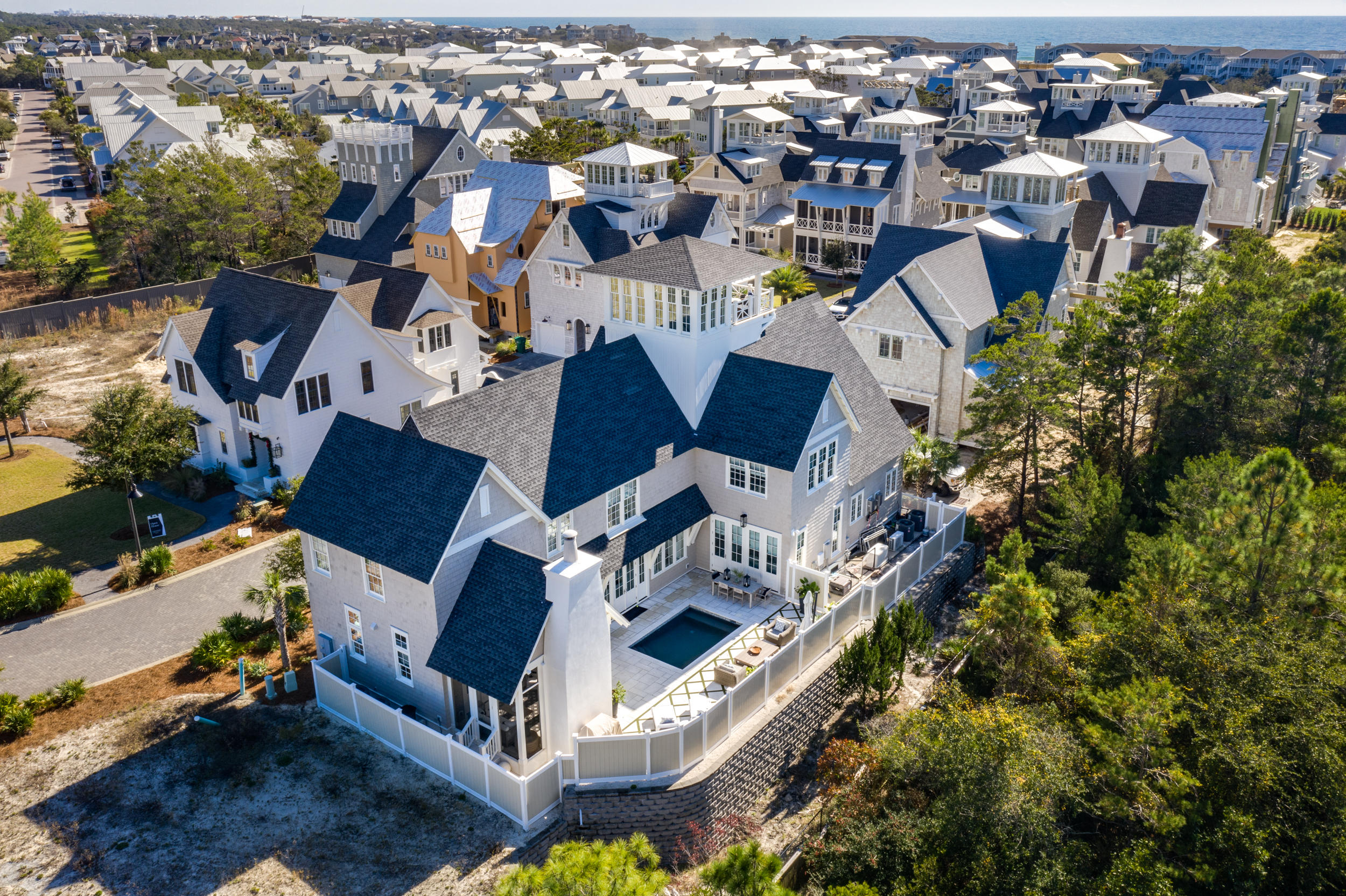 Photo of home for sale at 84 Grace Point, Inlet Beach FL