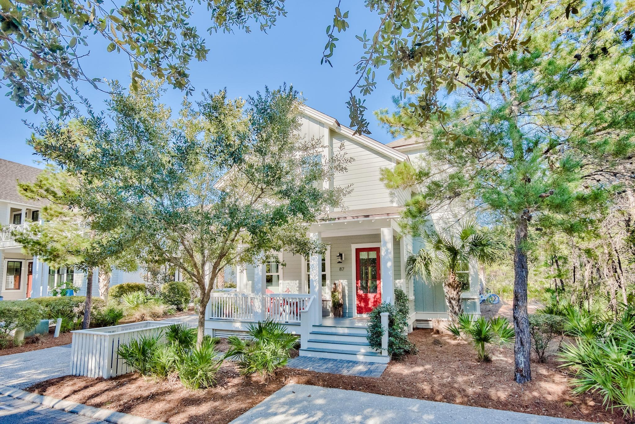 Photo of home for sale at 87 Salt Box, Inlet Beach FL