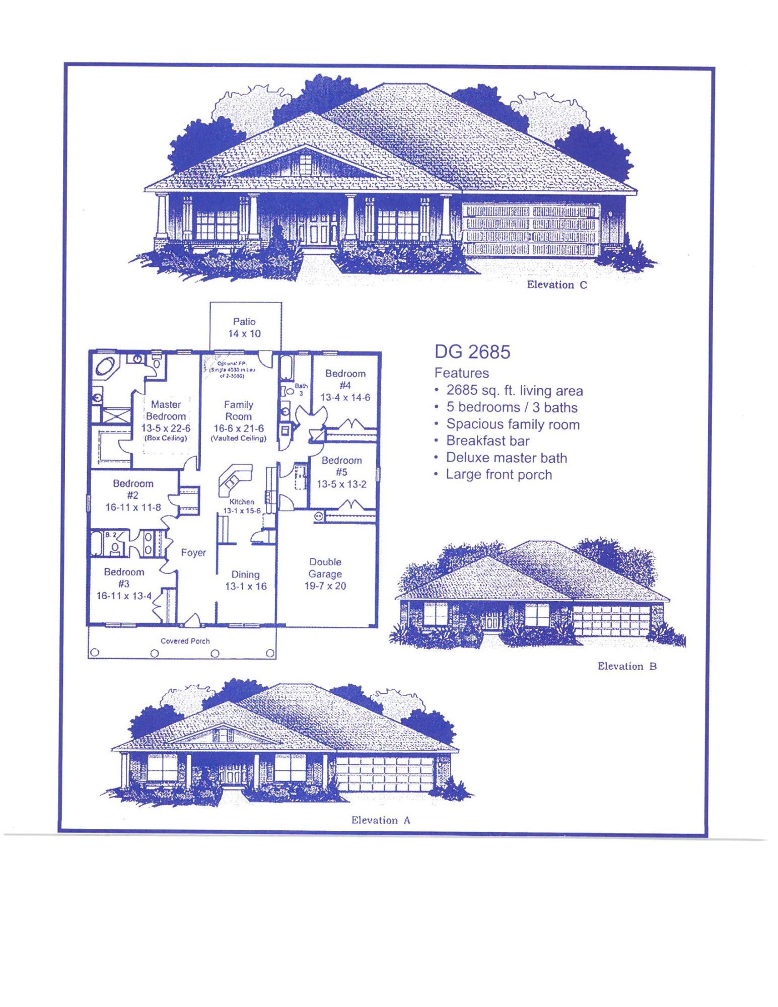Photo of home for sale at 5794 Dogwood, Crestview FL