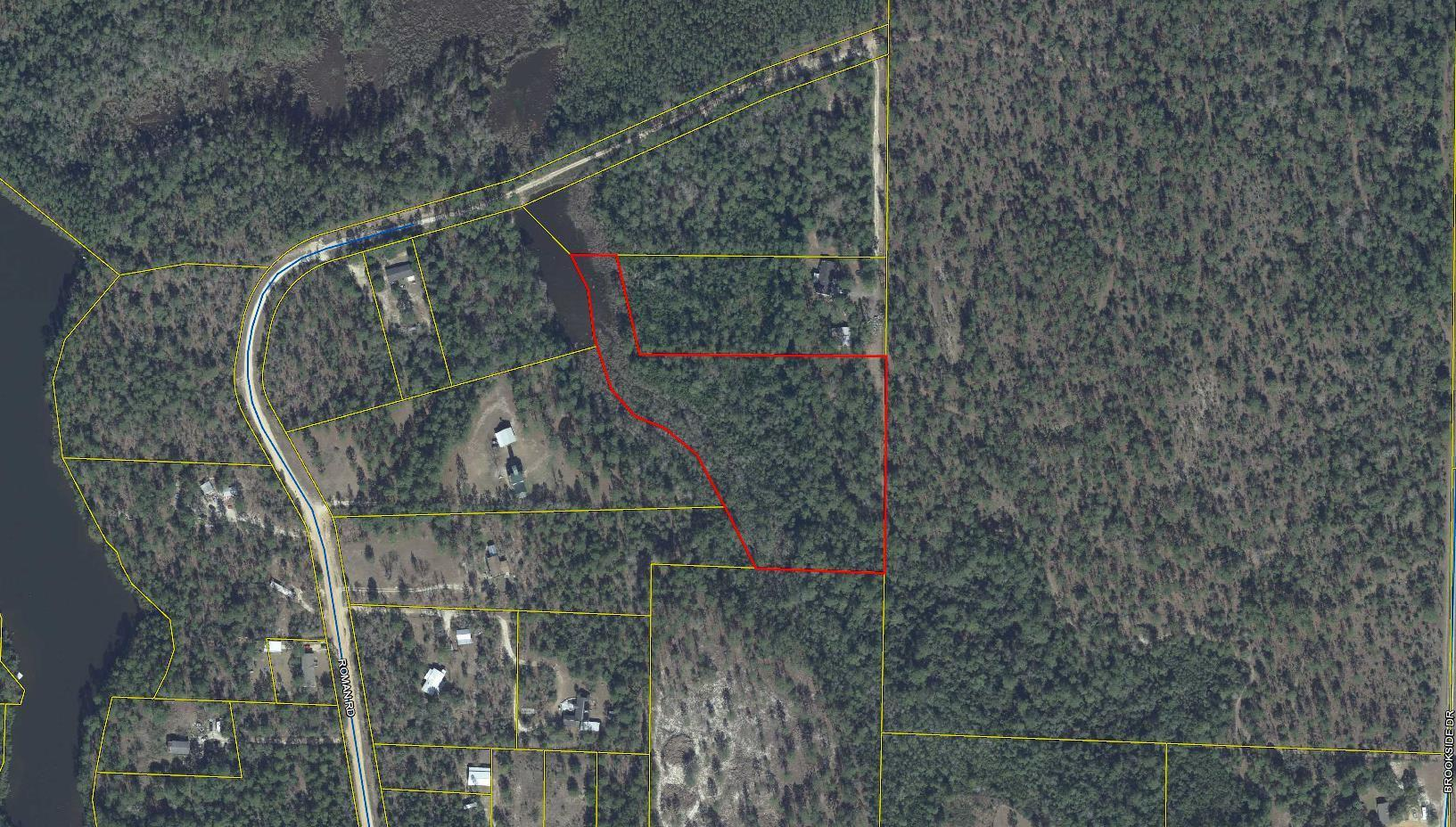 Photo of home for sale at 5.83 Ac Roman, Defuniak Springs FL