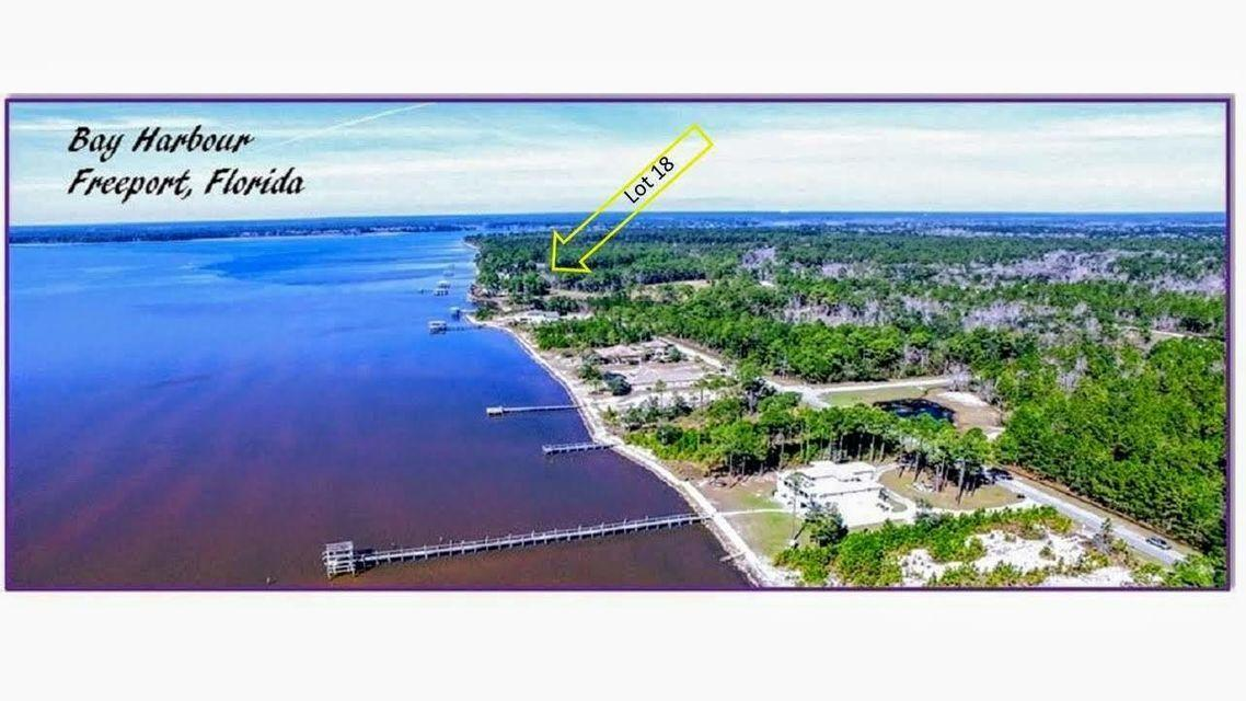 Photo of home for sale at Lot 18 Bay Harbour, Freeport FL