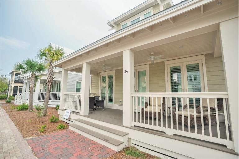 Photo of home for sale at 24 Pleasant, Inlet Beach FL