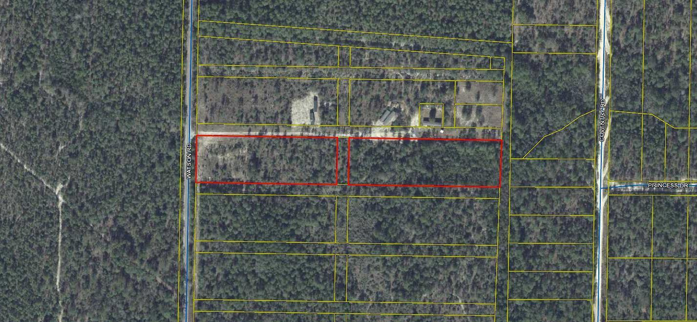 Photo of home for sale at 5.7 Acres Watson Road, Defuniak Springs FL