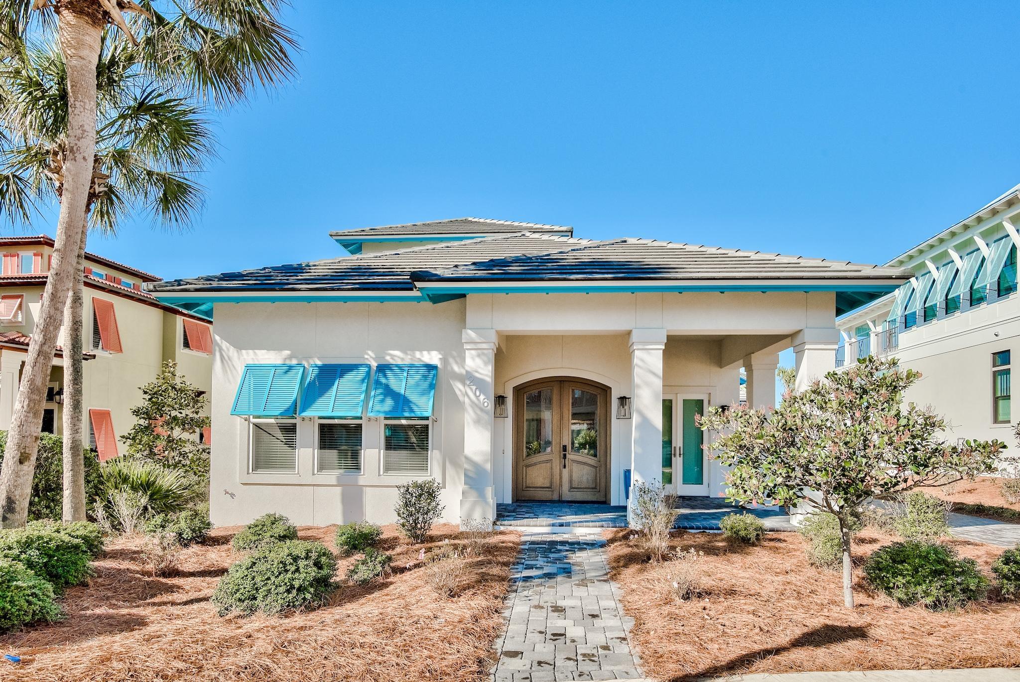 Photo of home for sale at 206 Rue Martine, Miramar Beach FL
