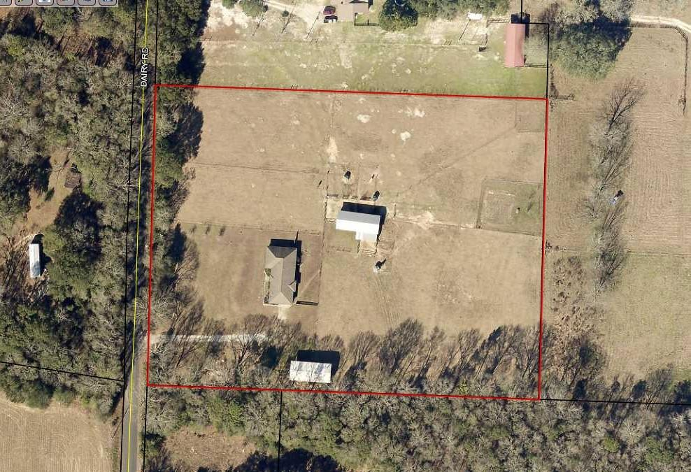 Photo of home for sale at 6009 Dairy, Baker FL