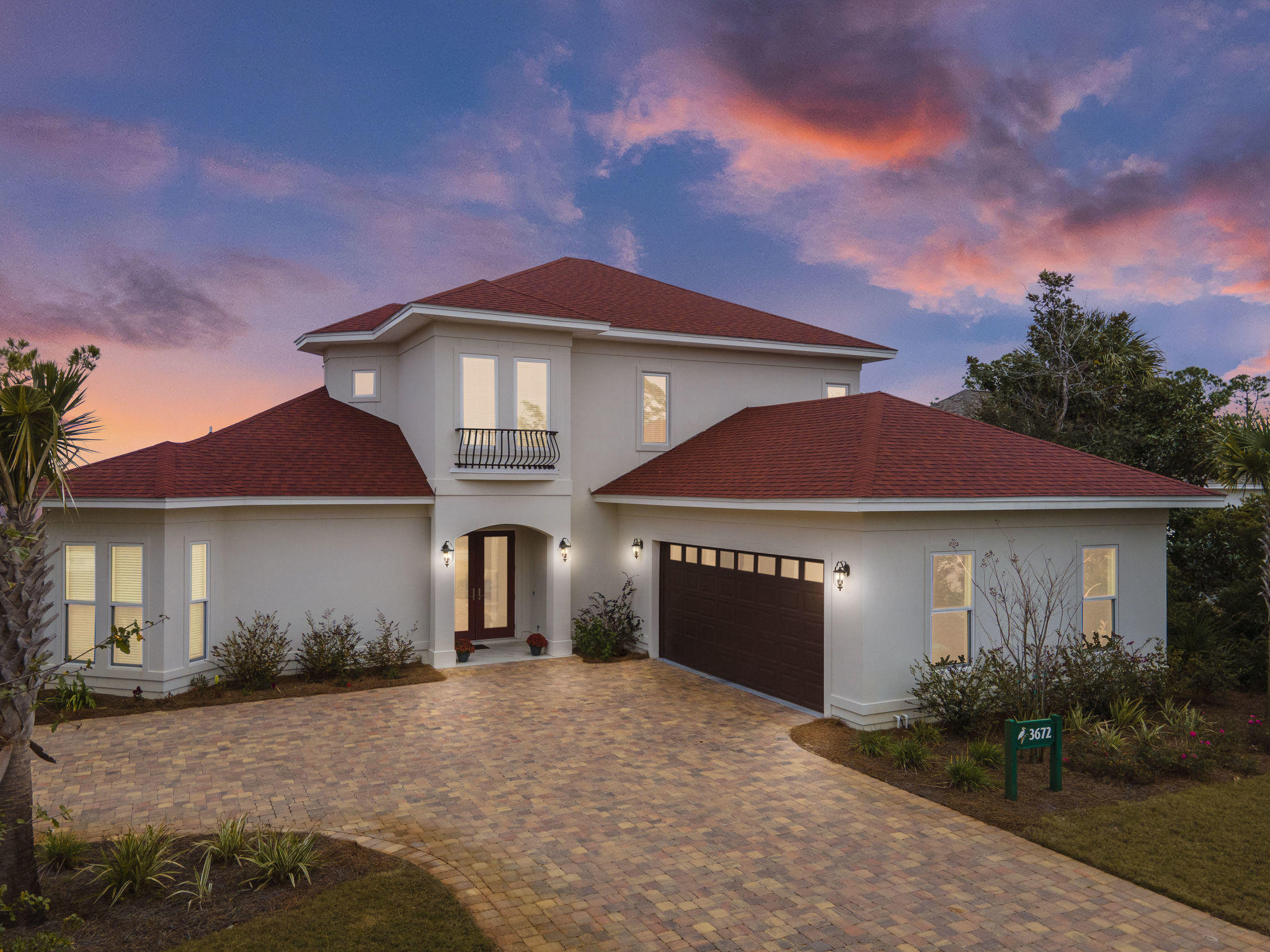 Photo of home for sale at 3672 Preserve, Panama City Beach FL