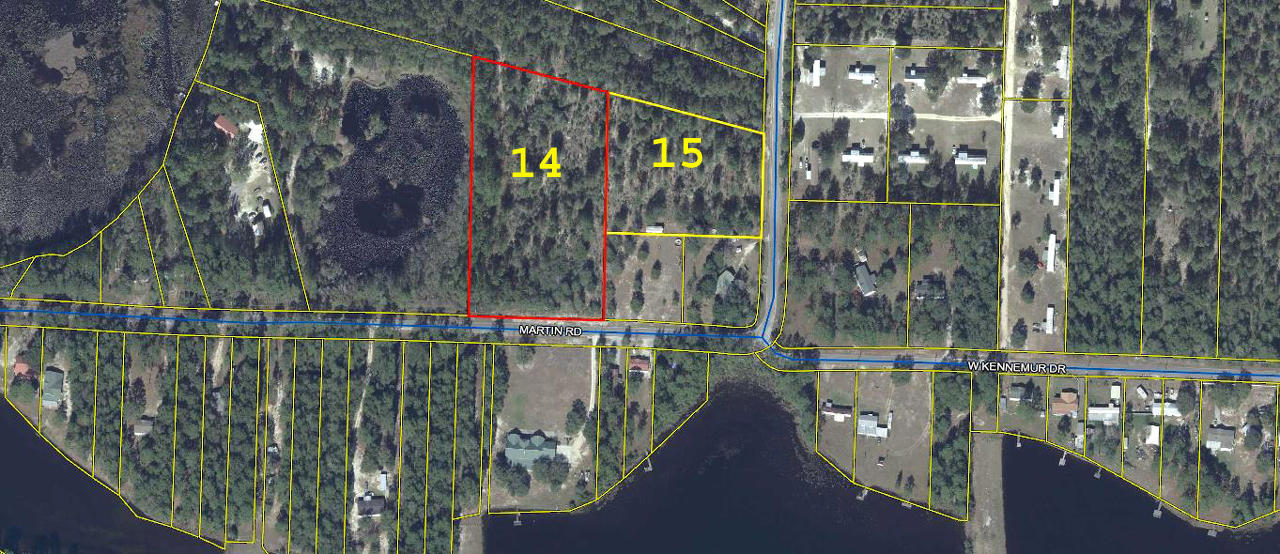 Photo of home for sale at T 14 Martin, Defuniak Springs FL