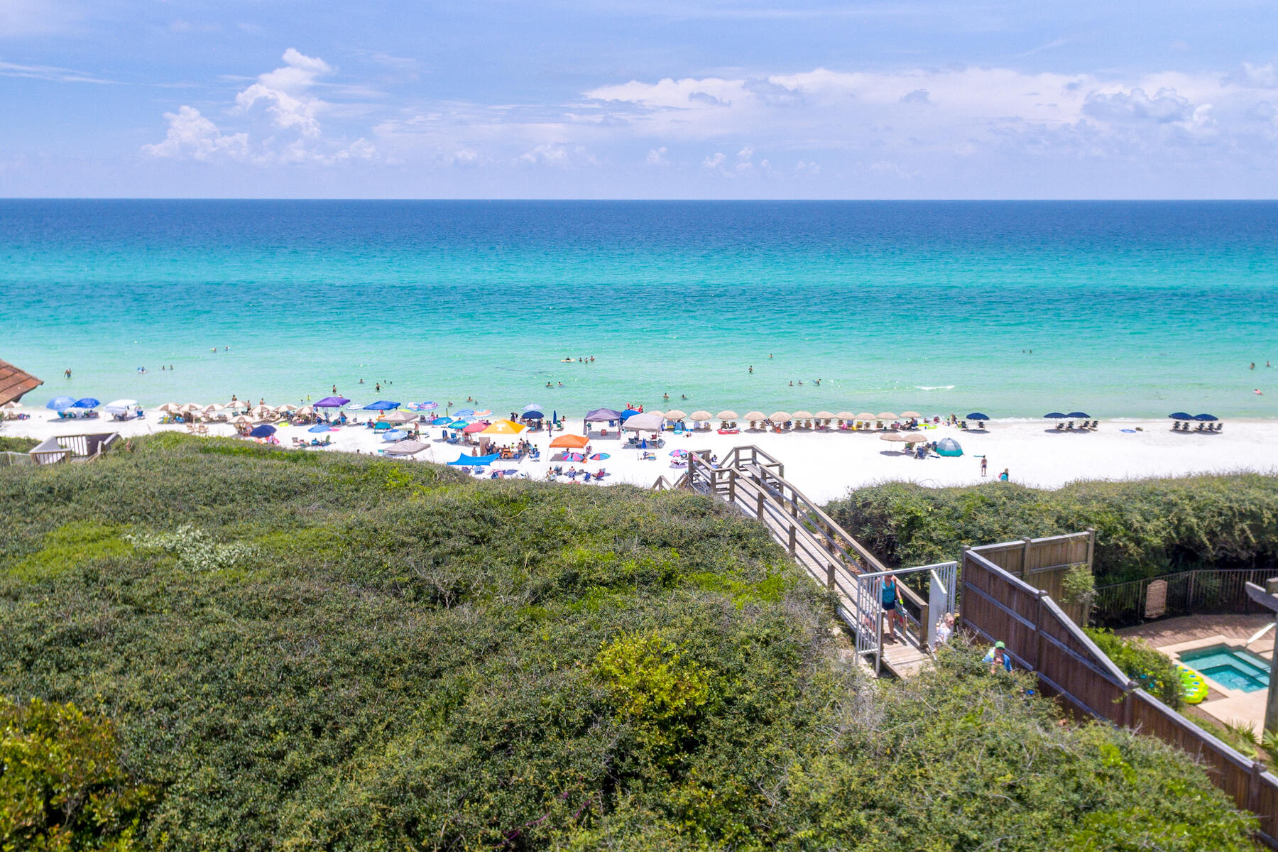 Photo of home for sale at 25 Canopy, Inlet Beach FL