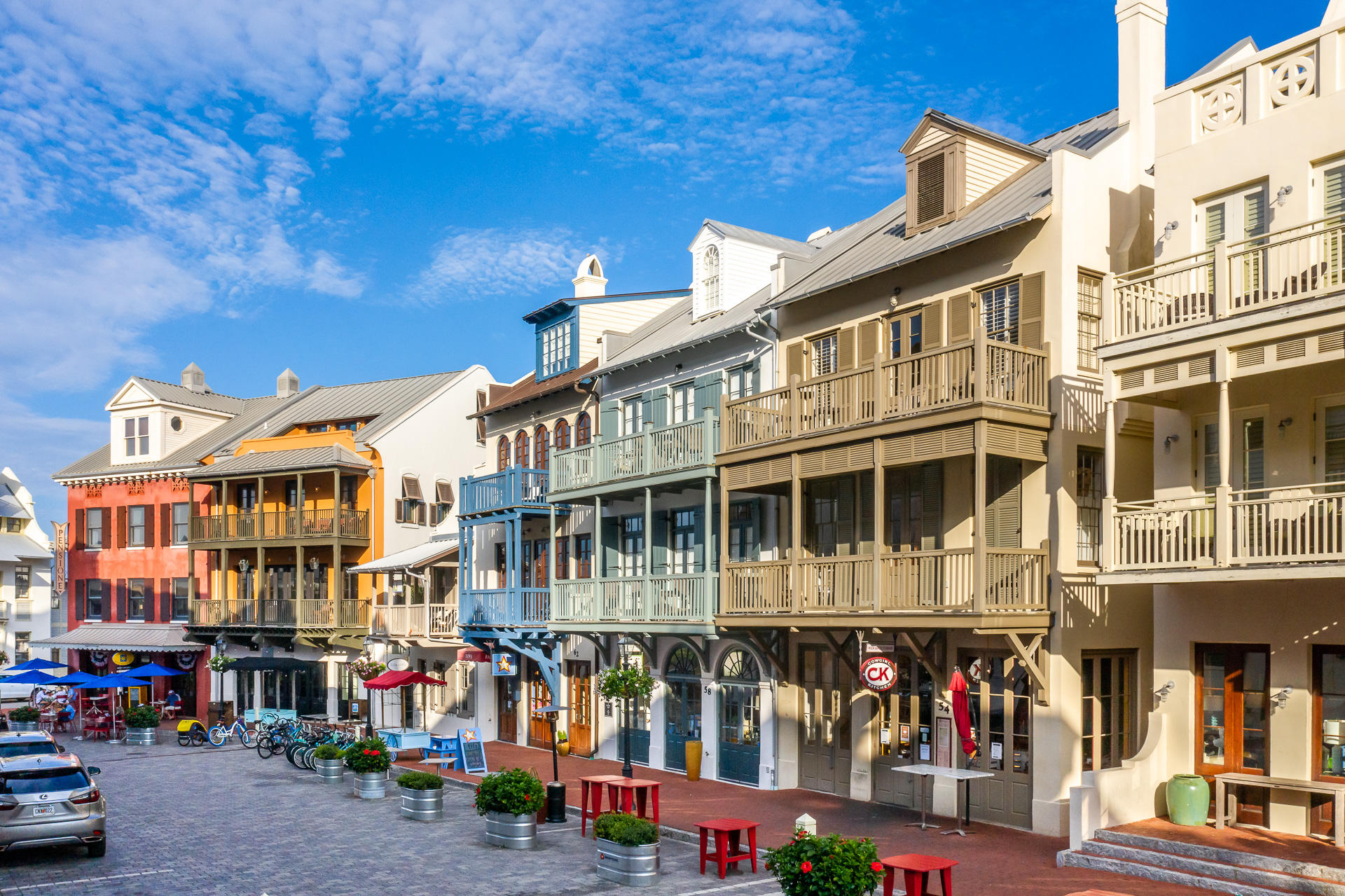 Photo of home for sale at 122 Georgetown, Rosemary Beach FL