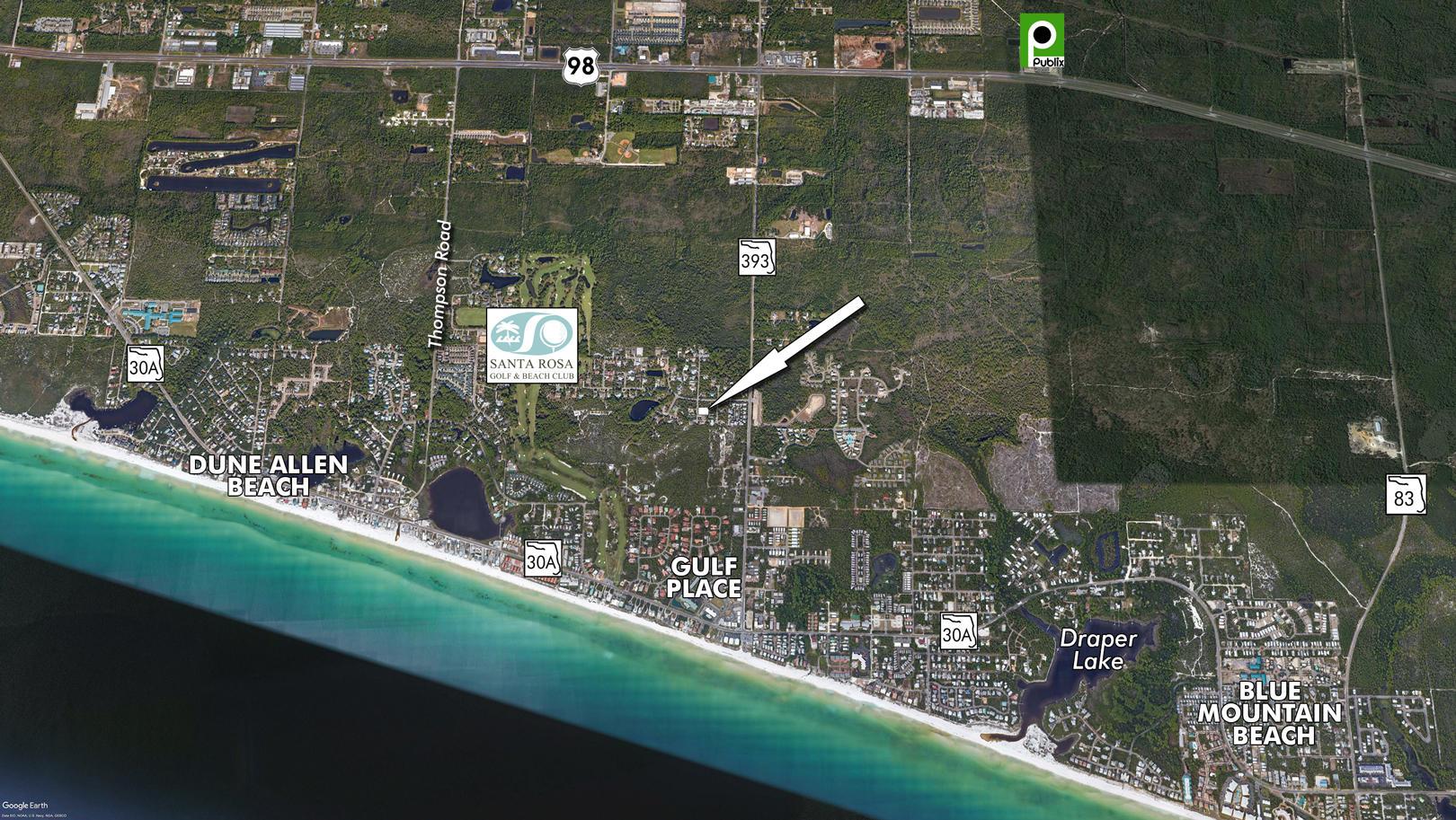 Photo of home for sale at Lot 10 Brian, Santa Rosa Beach FL