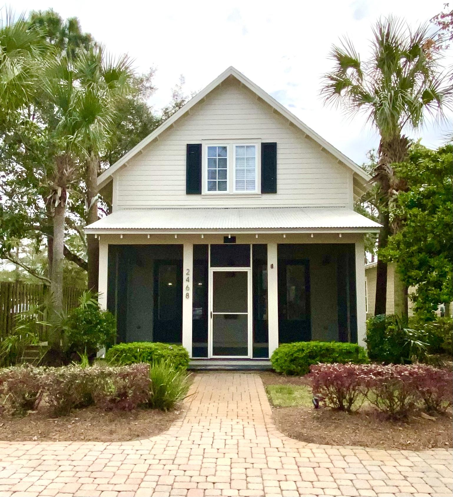 Photo of home for sale at 2468 Bungalo, Miramar Beach FL