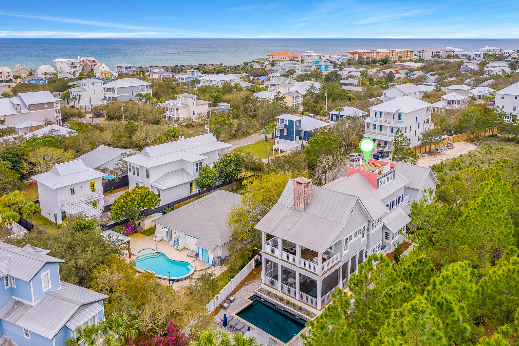 Photo of home for sale at 172 A, Inlet Beach FL