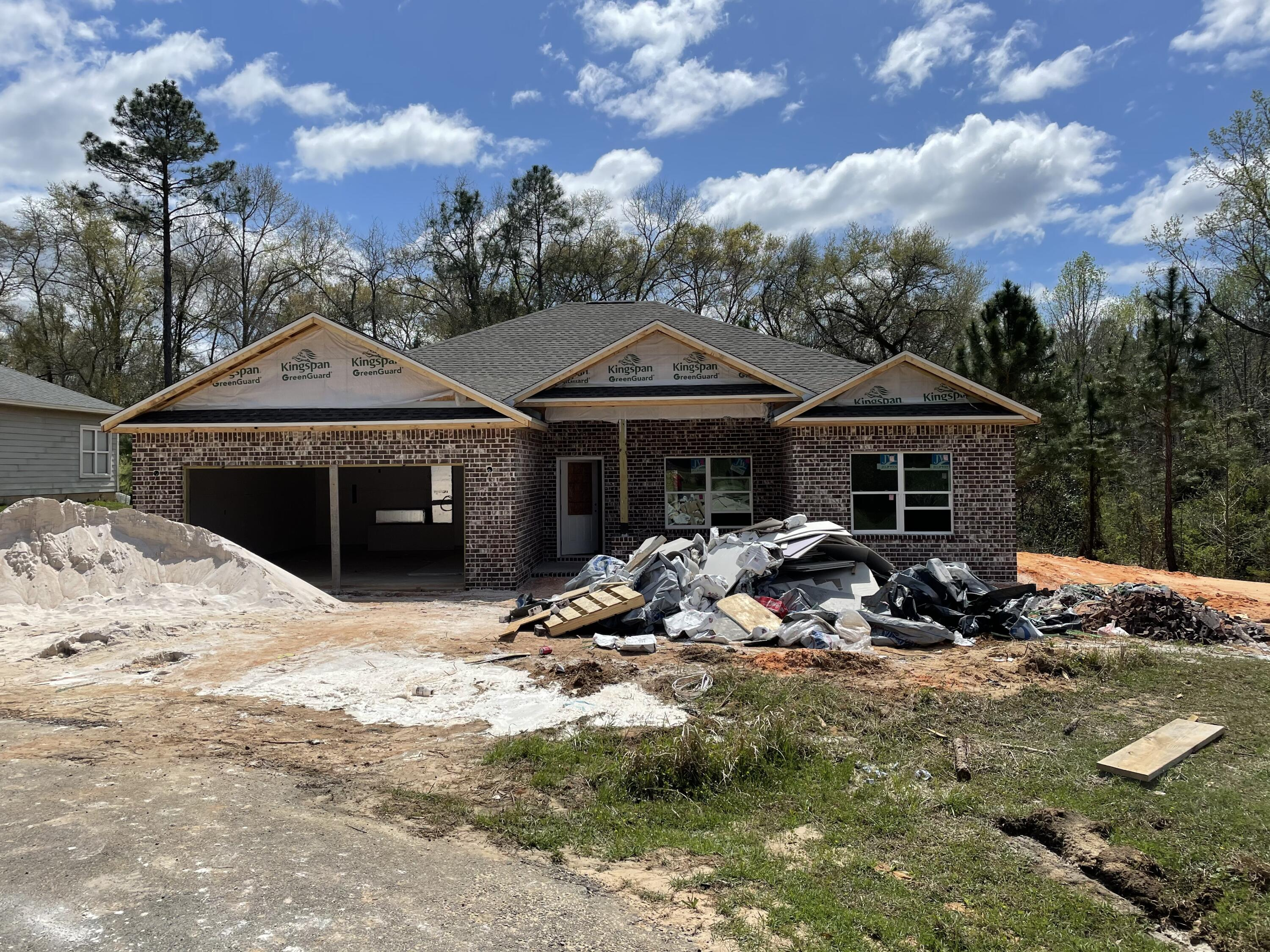 Photo of home for sale at 1504 Long Needle, Baker FL