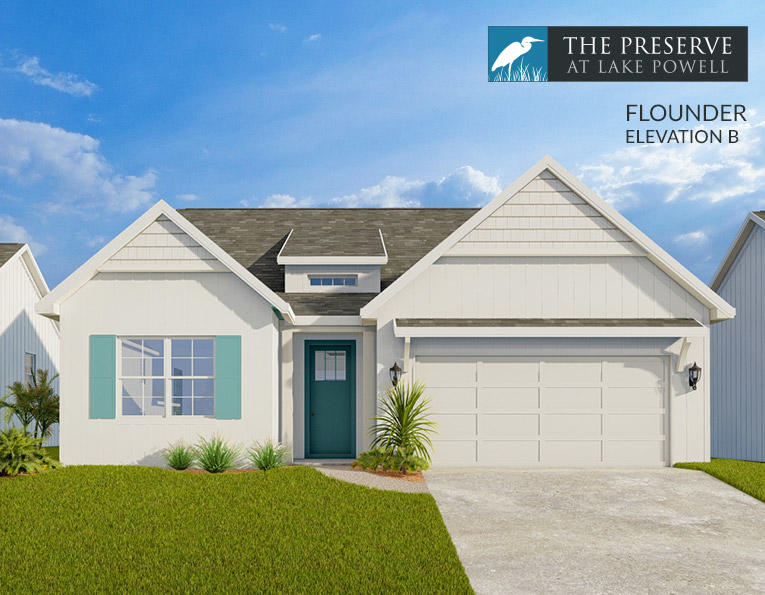 Photo of home for sale at 729 Landing, Panama City Beach FL
