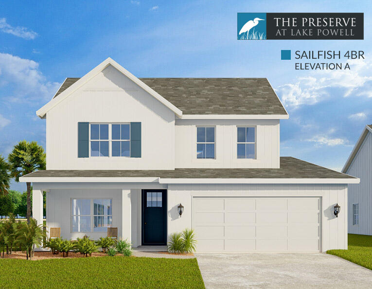 Photo of home for sale at 733 Landing, Panama City Beach FL