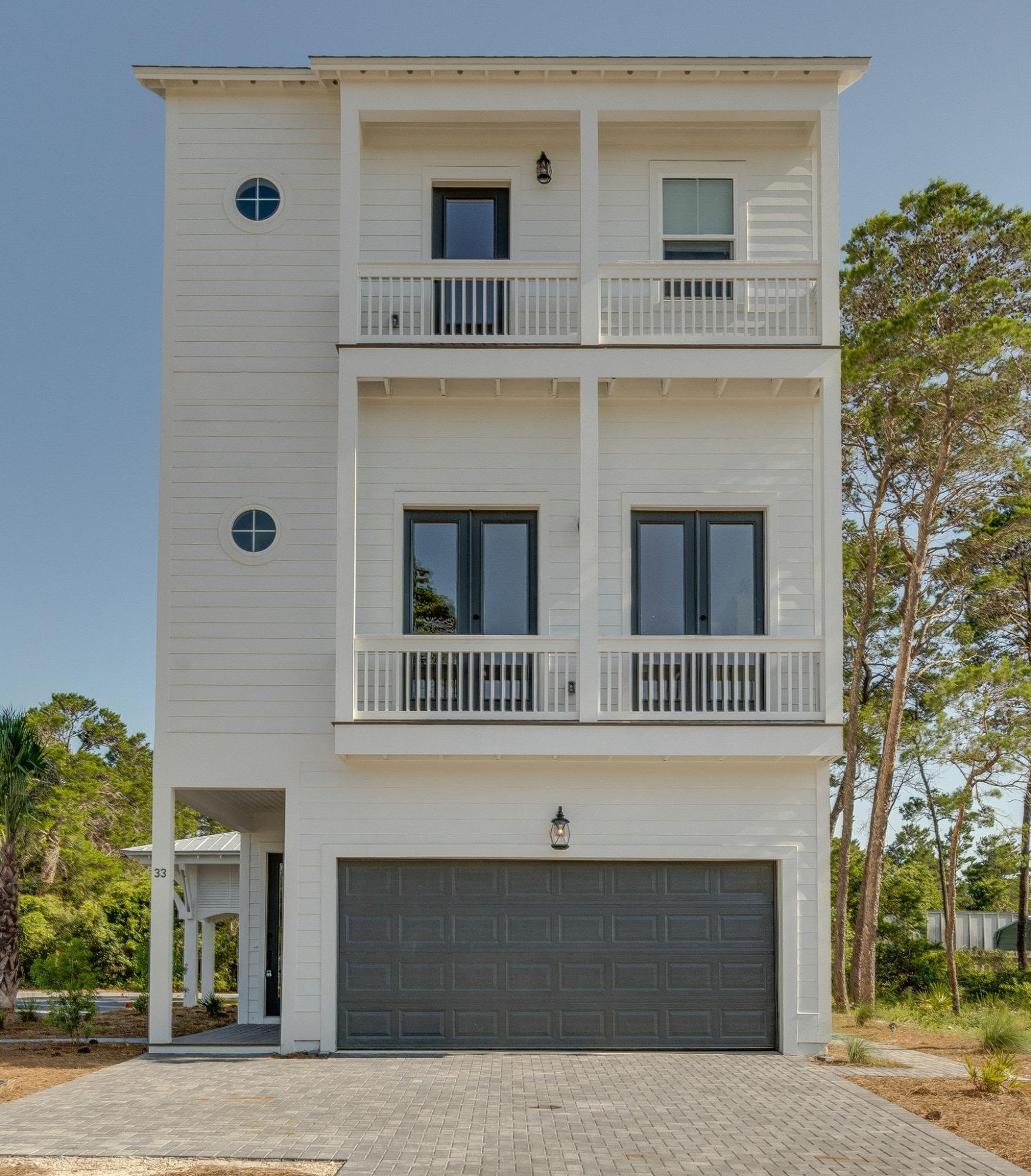 Photo of home for sale at 38 Beachview Drive, Inlet Beach FL