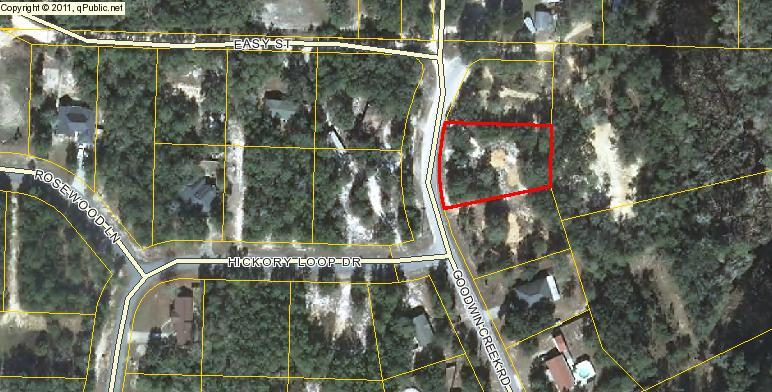 Photo of home for sale at Lot 8 BlkD Goodwin Creek, Freeport FL