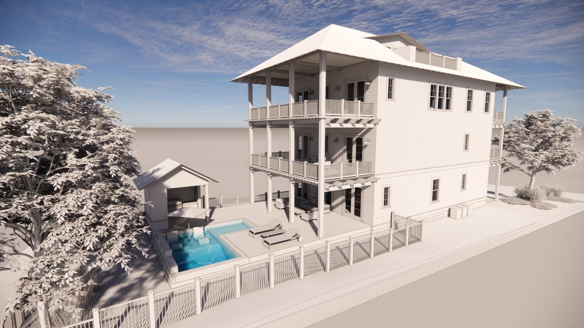 A 5 Bedroom 5 Bedroom Grayton Beach Home