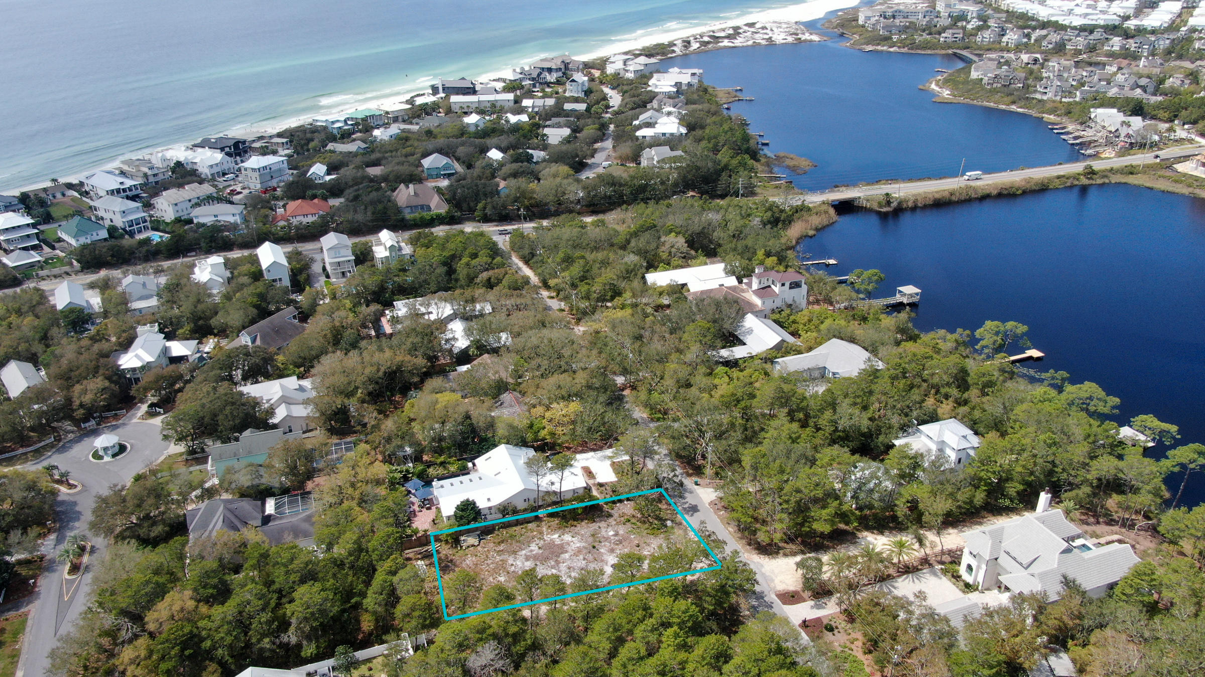 Photo of home for sale at - Camp Creek Road South, Inlet Beach FL