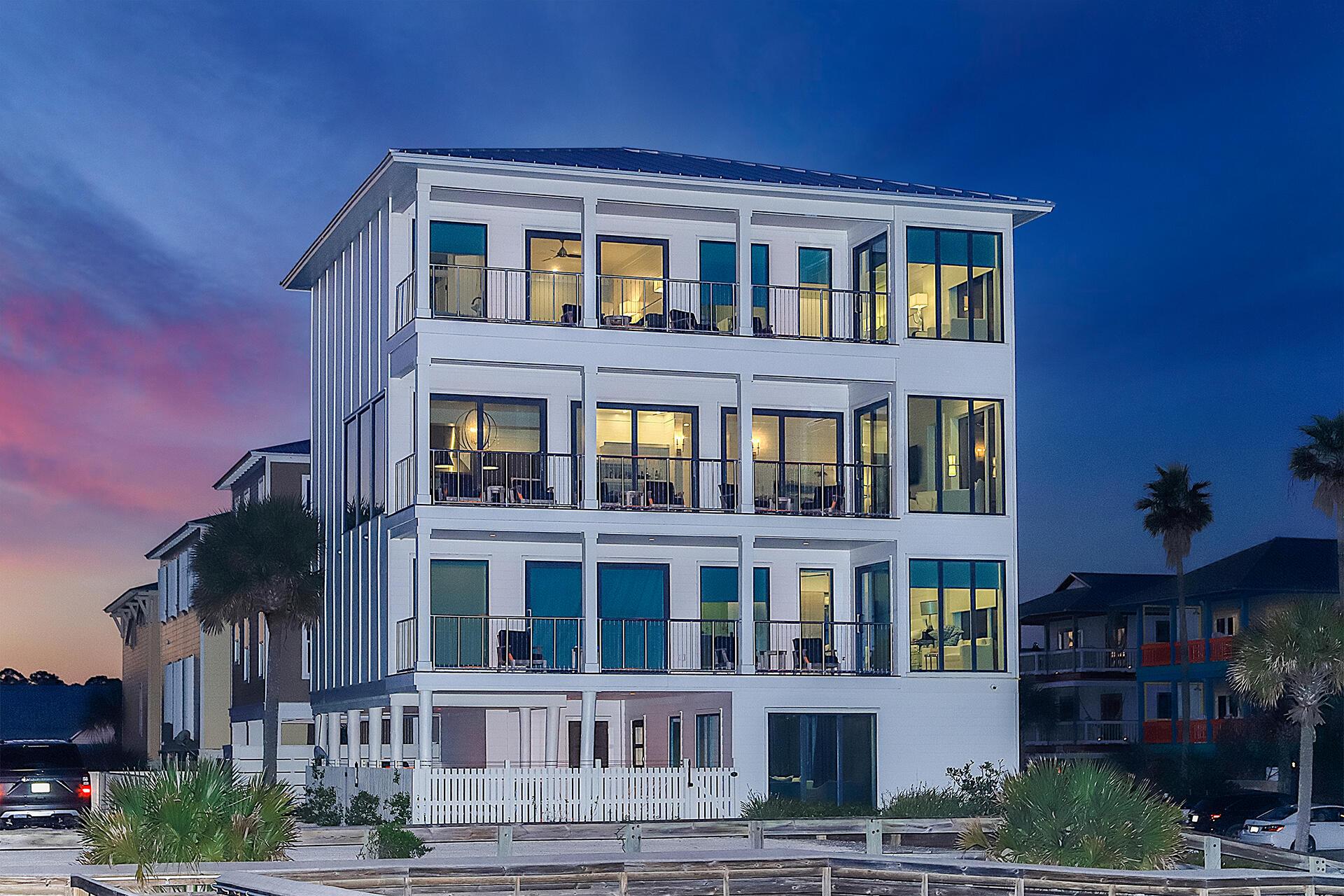 A 6 Bedroom 7 Bedroom Grayton Beach Home