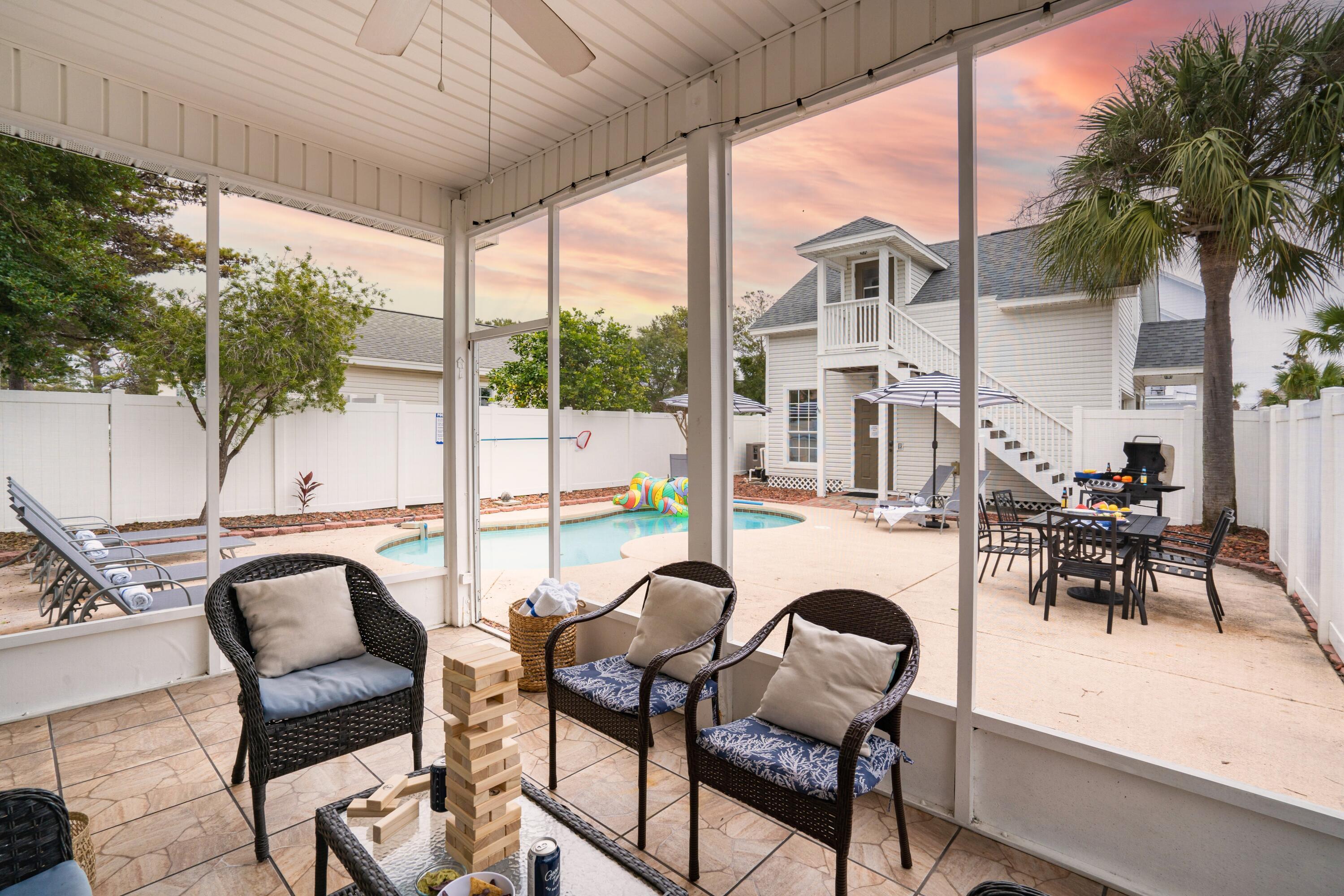 A 7 Bedroom 5 Bedroom Crystal Beach Home