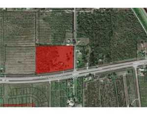 Land for Sale at 8170 Okeechobee Road 8170 Okeechobee Road Fort Pierce, Florida 34945 United States