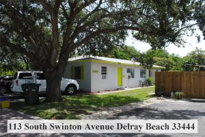 Mehrfamilienhaus für Verkauf beim 113 S Swinton Avenue 113 S Swinton Avenue Delray Beach, Florida 33444 Vereinigte Staaten