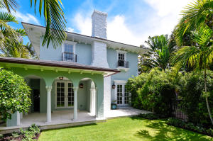 Totally and tastefully restored on Seabreeze, this chic 4 BR/3.5BA pool home offers a prime Palm Beach location, comfortable living, and ease of maintenance in a beautifully landscaped setting.  Quality details include: high ceilings, crown moldings, stunning wide plank wood floors, open kitchen w/ top of the line appliances, family room, loggia and much more! Beach access.