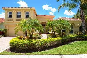 Maison unifamiliale pour l Vente à 8840 Via Prestigio Wellington, Florida 33411 États-Unis