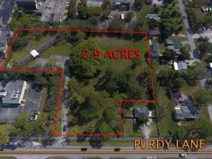 Land for Sale at 4600 Purdy Lane 4600 Purdy Lane West Palm Beach, Florida 33415 United States
