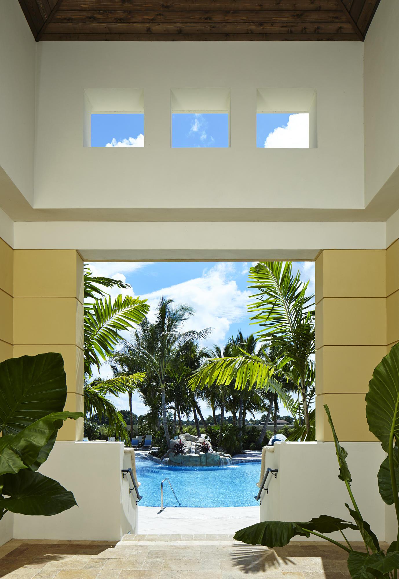 Pool Entryway